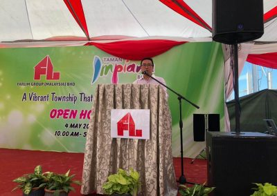 Speech by YB Tuan Chang Lih Kang, MP of Tanjong Malim, Perak
