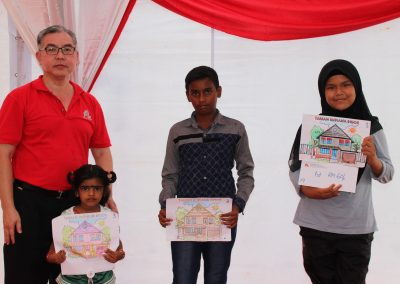 Children Colouring Contest Prize Presentation
