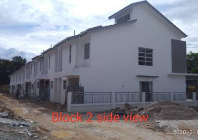 Block 2 side view