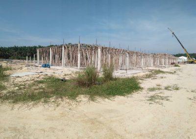 Phase 2 - Single Storey Terrace House (Column in Progress)