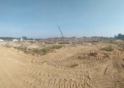 Phase 2 - Single Storey Terrace House (Foundation Work in Progress)