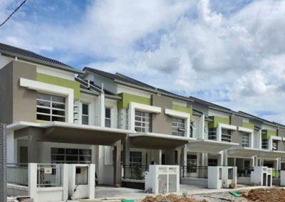 Erica 2 - Storey Terrace Houses (External Infrastructure Work in progress)