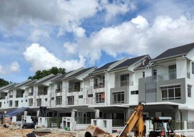 Iris 3 - Storey Terrace Houses (External Infrastructure Work in progress)