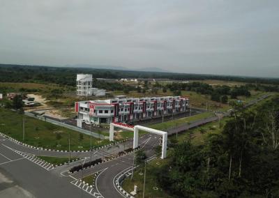 Phase 5 – Double Storey Shophouses & Main Entrance to Taman Impiana Bidor