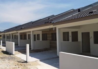 Phase 3 – Single Storey Terrace House (Plastering Work and Painting Work Completed) - Block 1