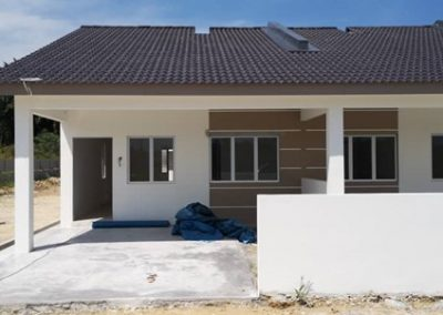 Phase 3 – Single Storey Terrace House (Plastering Work and Painting Work Completed) - Block 2