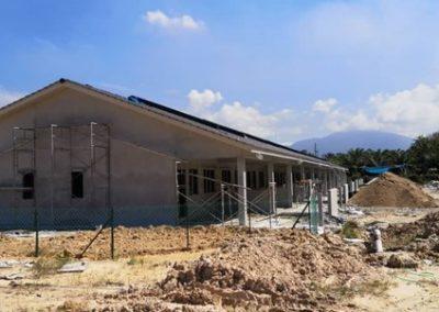 Phase 2 – Single Storey Terrace House (Plastering Work in Progress) – Block 4