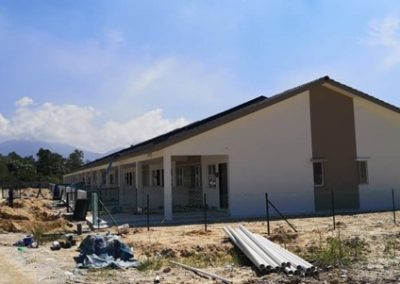 Phase 2 – Single Storey Terrace Houses (Main Building Work Completed) – Block 1