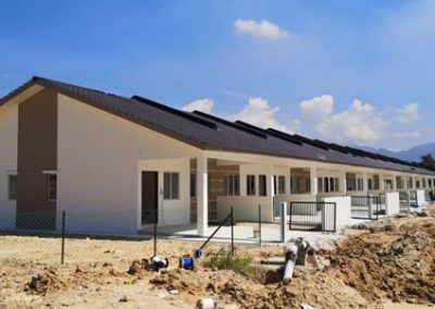 Phase 2 – Single Storey Terrace Houses (Main Building Work Completed) – Block 2