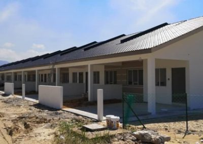 Phase 2 – Single Storey Terrace Houses (Main Building Work in Progress) – Block 3