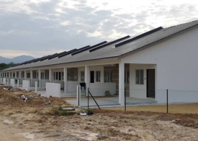 Phase 2 – Single Storey Terrace Houses (Main Building Work Completed) – Block 3