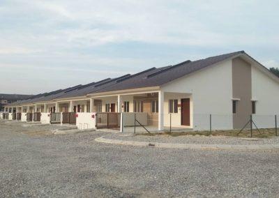Phase 3 - Single Storey Terrace House (Road work in progress)