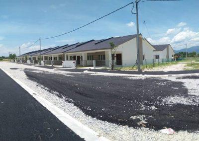 Phase 3 – Single Storey Terrace Houses (Road Work in progress)