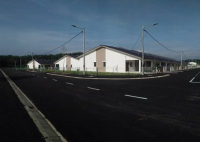 Phase 2 – Single Storey Terrace Houses (Road Works completed)