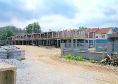 Iris (3-Storey) Construction Site
