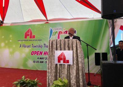 Speech by Tan Sri Dato' Seri Lim Gait Tong, Chairmain & Chief Executive of Farlim Group (Malaysia) Bhd