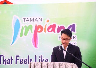 Speech by Mr. Lim Chu Dick, Executive Director of Farlim Group (Malaysia) Bhd