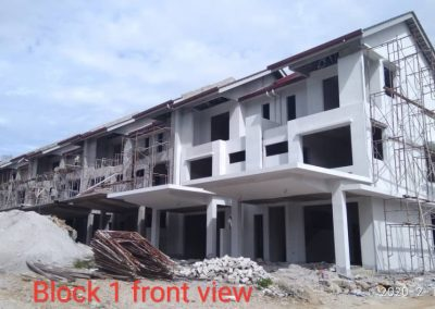 Block 1 front view