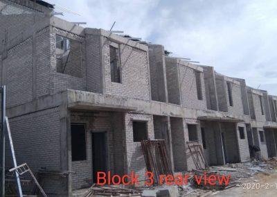 Block 3 rear view