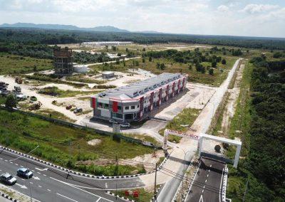 Taman Impiana Bidor - Aerial View