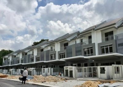 Iris – 3 Storey Terrace Houses (Building Works completed)