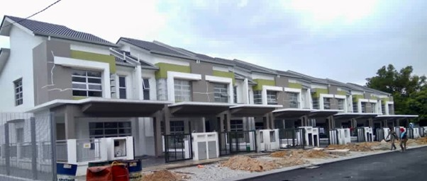 Erica – 2 Storey Terrace Houses (Building Works completed)